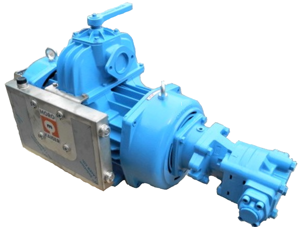 PM90T Vacuum Pump, ccw + Hyd motor Mounted