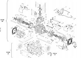 RV360 Exploded View Drawing