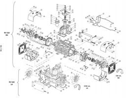 RV520 Exploded View Drawing