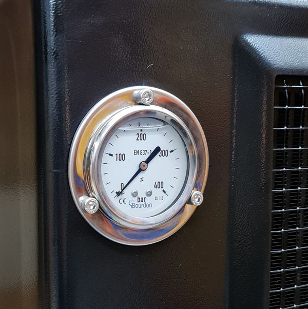 Hydraulic Cooler HC14 with Pressure Gauge Assembly (B)